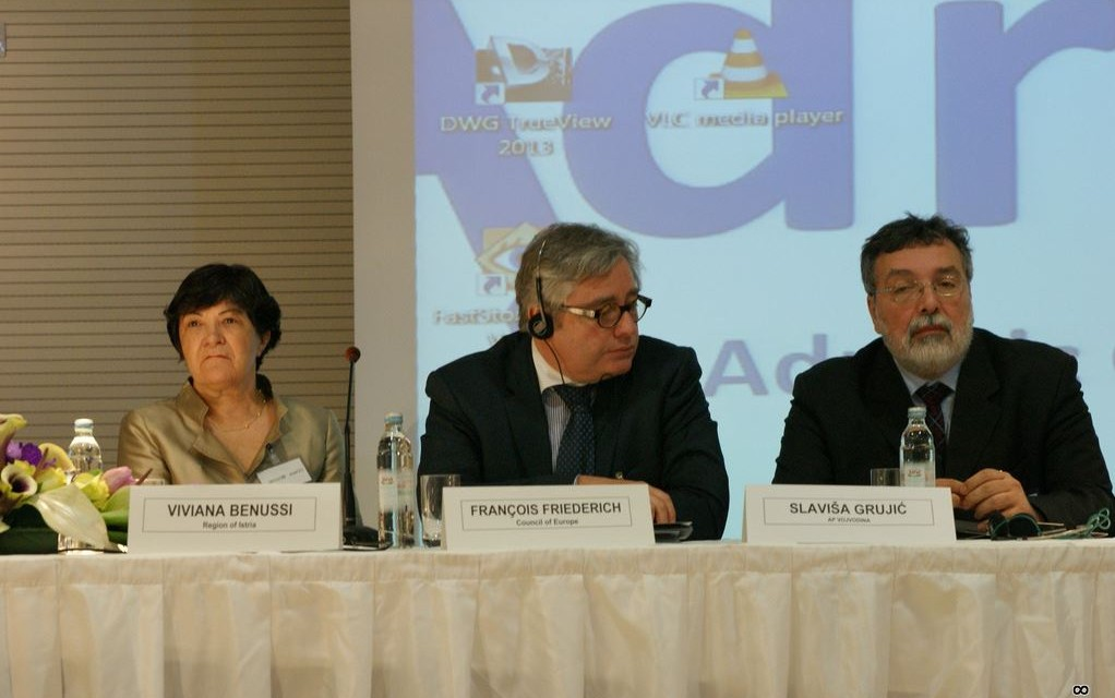 "A Pola la conferenza ""The role of regional authorities in the promotion of European citizenship"""
