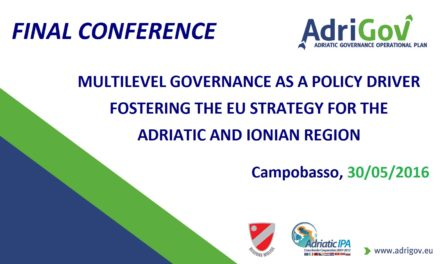 """Multilevel governance as a policy driver fostering the EU Strategy for the Adriatic and Ionian Region"""