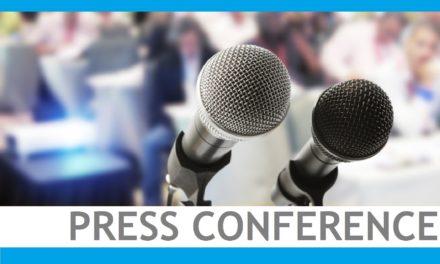 Conferenza stampa per annunciare l'Assemblea Straordinaria in occasione delle celebrazioni del 10 ° Anniversario dell'EAI