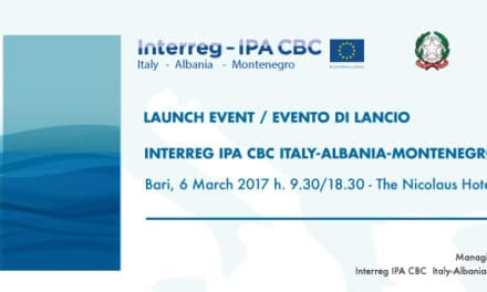 Launch event of the new Interreg IPA CBC Programme Italy Albania Montenegro