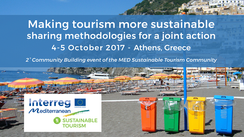 """BleuTourMed 2nd Community Building Event """"Making tourism more sustainable: Sharing methodologies for a joint action"""""""
