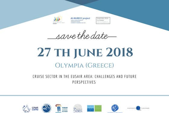 AI-NURECC event: Cruise sector in the EUSAIR Area, challenges and future perspectives