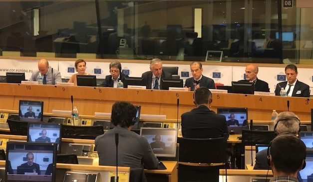 President Dobroslavic chaired the Adriatic and Ionian Interregional Group in Brussels