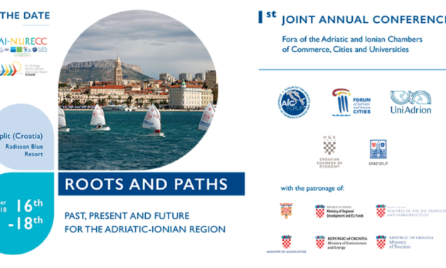 AI-NURECC Conference: ROOTS and PATHS. Past, Present and Future for the Adriatic-Ionian Region