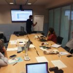BLEUTOUMED_C3 PROJECT MEETING IN BARCELONA. PARTNERS PLANNED WORK AHEAD FOR THE CAPITALISATION PHASE.