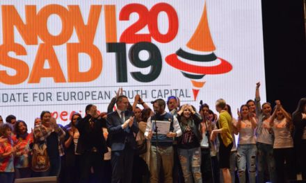 Opening ceremony for Novi Sad the 2019 European Youth Capital