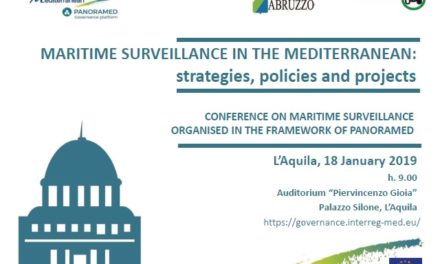 MED Maritime Surveillance. President Dobroslavic as speaker in Panoramed Conference in L'Aquila