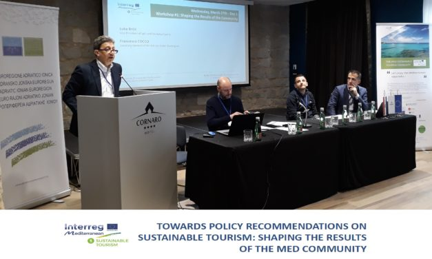 Successful workshop in Split on Sustainable Tourism in Mediterranean area