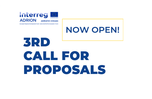 Interreg ADRION Programme launches the 3rd Call for Proposals