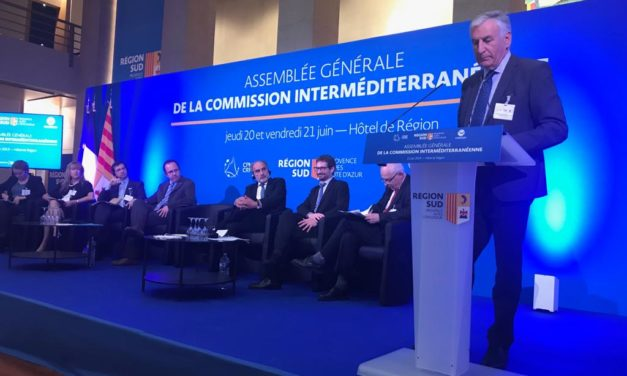 MED Cooperation Alliance for a more cohesive, inclusive and sustainable Mediterranean. Dobroslavic in Marseille at the CRPM Intermediterranean Commission