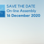 SAVE THE DATE: XVII General Assembly on-line meeting on 16 December 2020