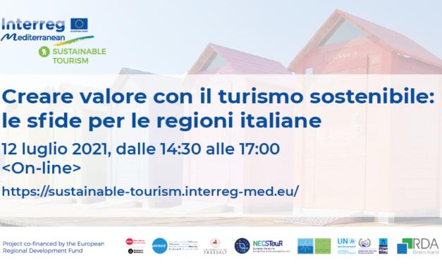 Creare valore con il turismo sostenibile: le nuove sfide per le Regioni Italiane