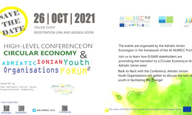 High-Level Conference on Circular Economy and Adriatic Ionian Youth Organisations Forum